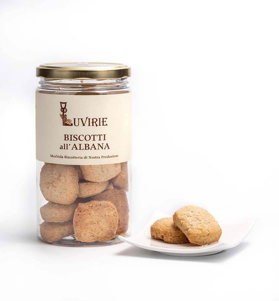 Biscotti al Vino Bianco Albana, Luvirie Romagna