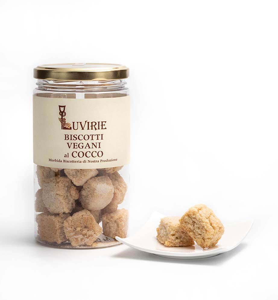 Biscotti Vegan al Cocco senza Uova, Luvirie Romagna