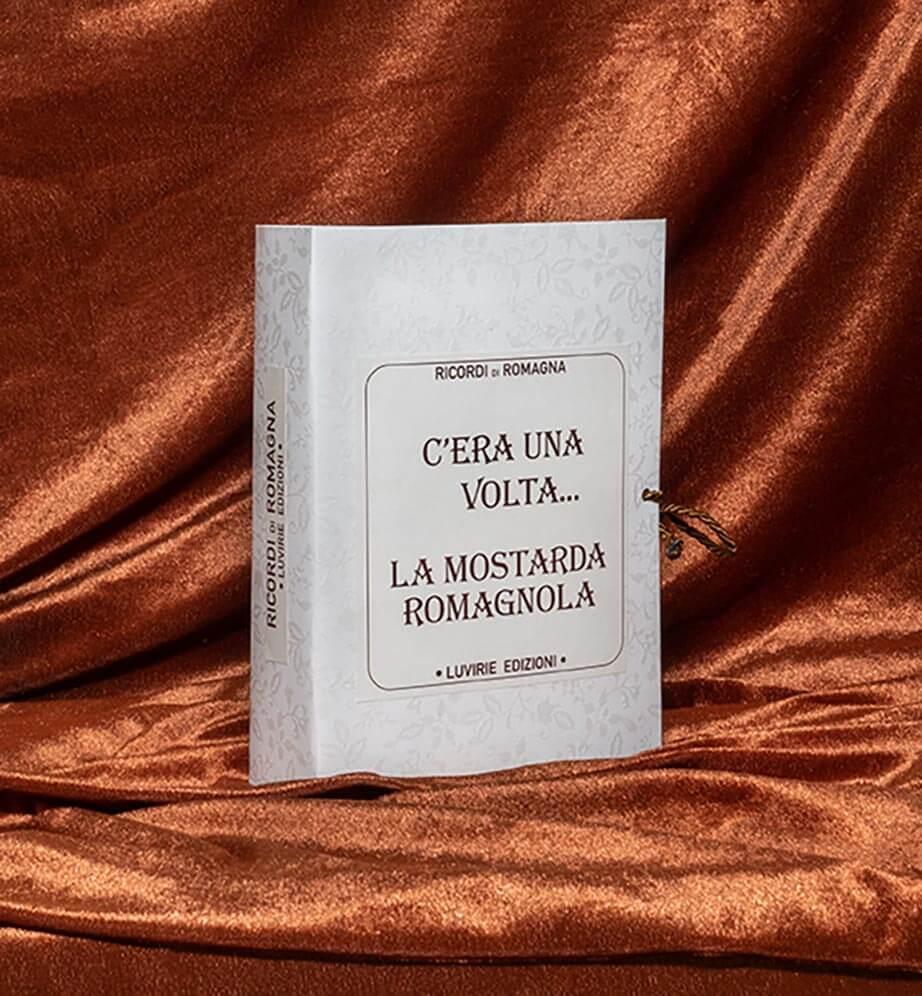 Confezione Libro Regalo: Ricordi di Romagna, con Mostarda Romagnola
