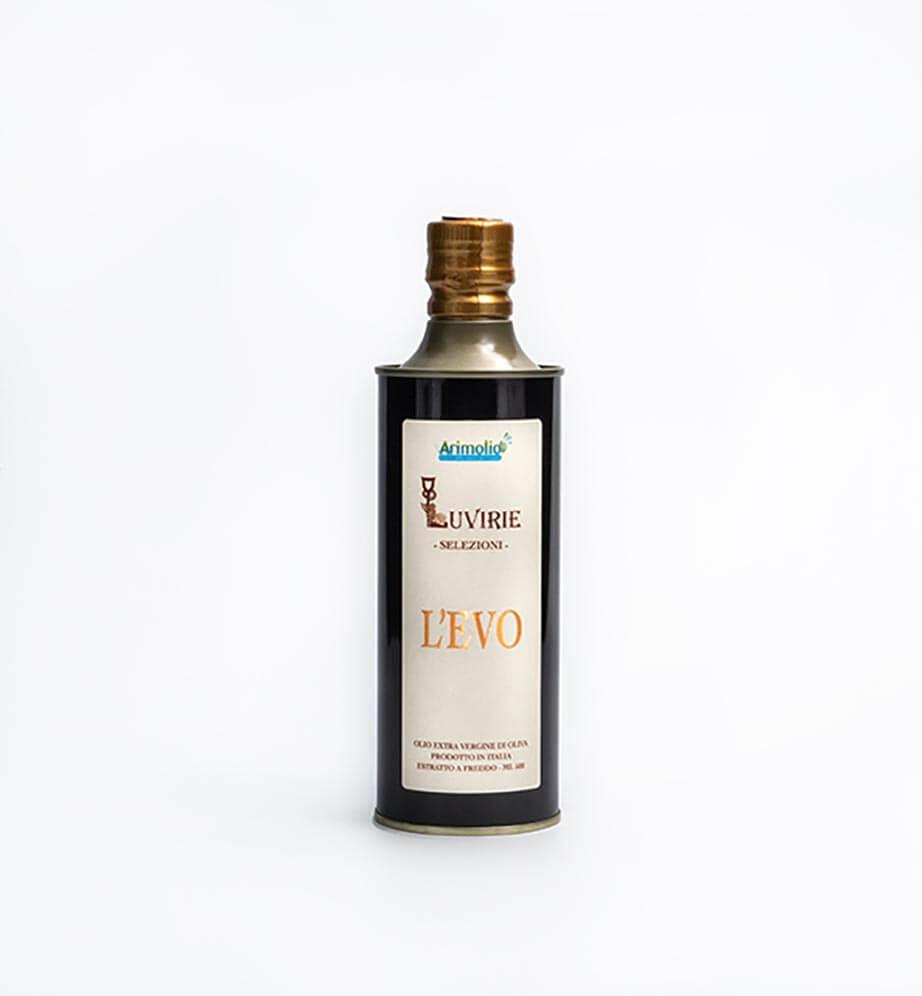 """Olio Extravergine di Oliva """"L'Evo"""", Luvirie Romagna"""