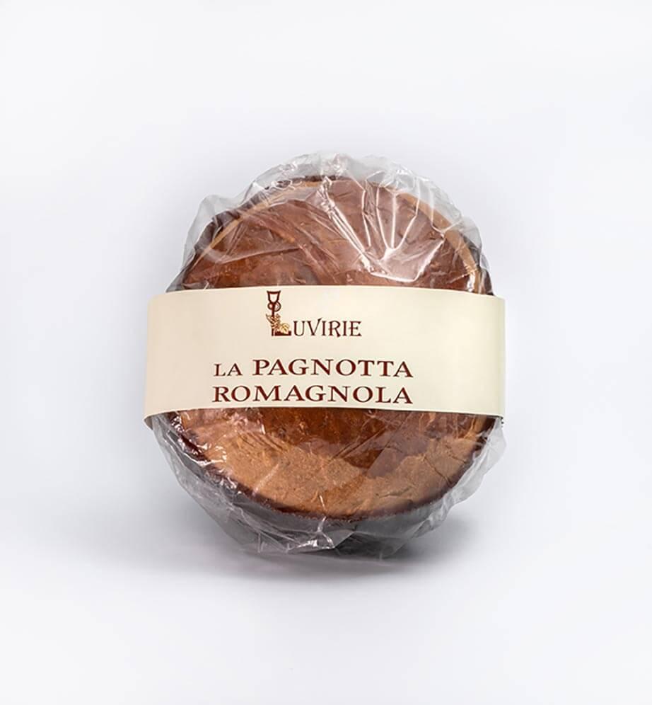 Pagnotta Pasquale Romagnola, produzione artigianale Luvirie